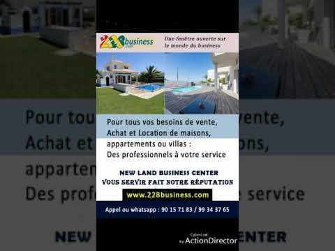 Location d'appartement ou de villas  à Lomé