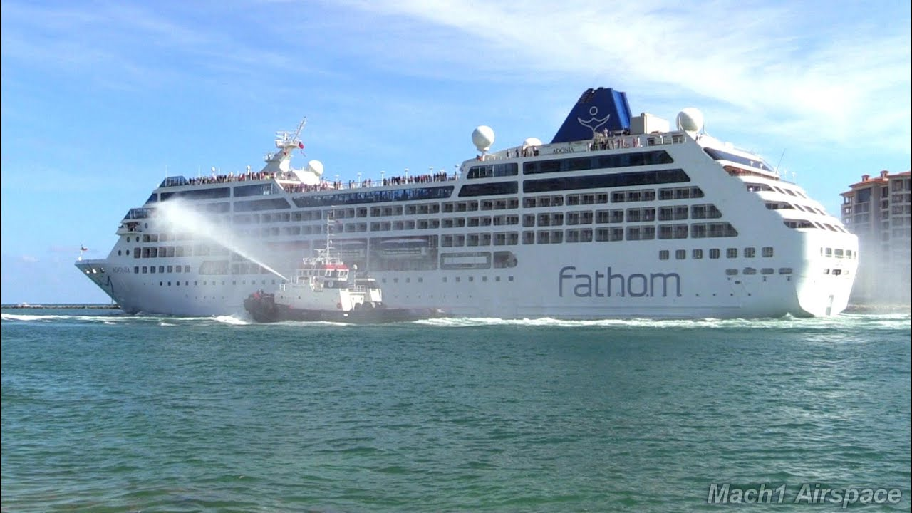 Fathom Adonia Leaves Port Miami For Cuba Maiden Voyage May - How much is a fathom