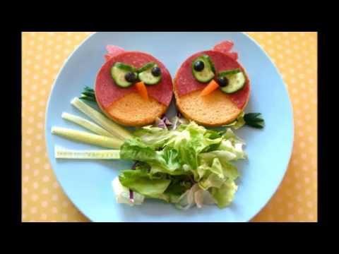 необычные детские бутерброды с рецептами