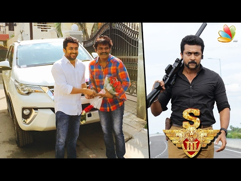 Success celebration, Surya gifts a car to director Hari | Si