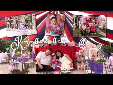 KIARAH\'S 1st BIRTHDAY PARTY + CHRISTENING in the PHILIPPINES