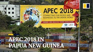 As Papua New Guinea prepares for APEC 2018, China's influence is evident