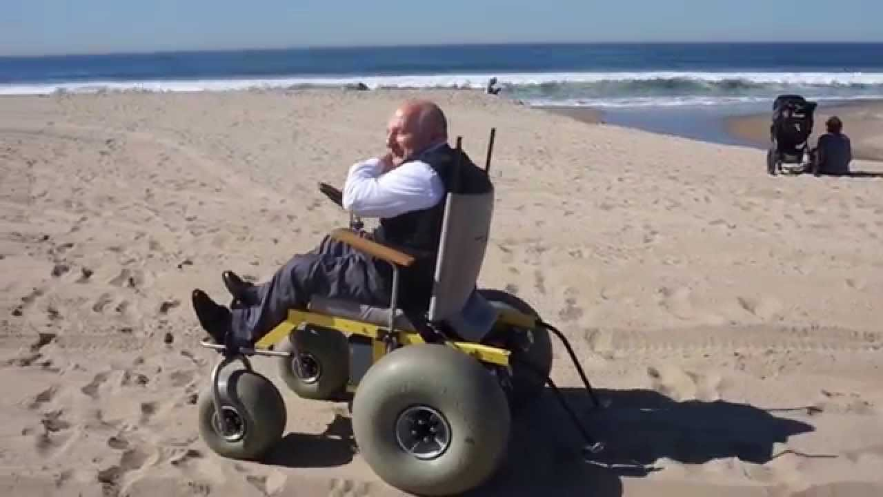 Santa Monica Beach Wheelchair Motorized Wheelchairs Los Angeles