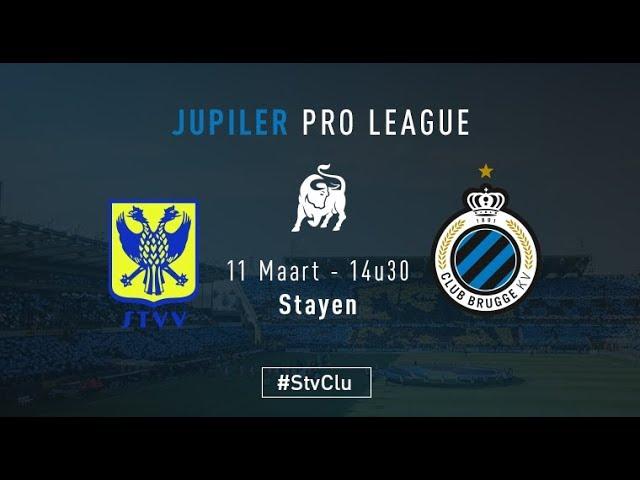 STVV - CLUB BRUGGE | Matchverslag | 2017-2018
