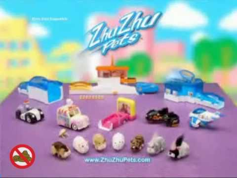 Zhu Zhu Pets Hamster Flying Commercial