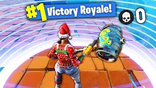 FAIRE un TOP 1 SANS KILLS sur FORTNITE Battle Royale !! - (Funny Moments Fortnite)