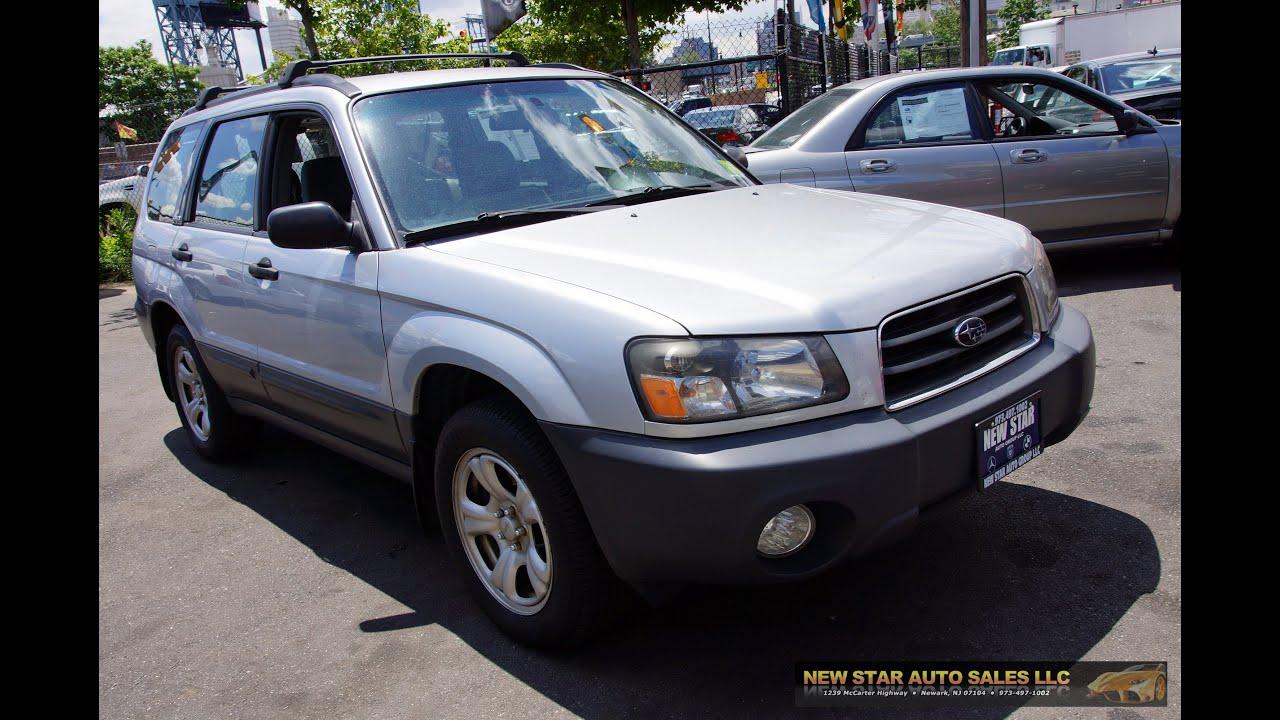 2003 Subaru Forester 2 5 X AWD All Wheel Drive