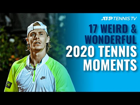 17 Weird & Wonderful Tennis Moments You Missed in 2020