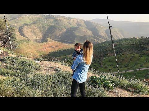 Водохранилище King Talal Dan / Едем в АЭРОПОРТ / КАК ГОТОВЯТ КНАФЭ /Иордания