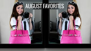 AUGUST FAVORITES 2016 | Brittany O'Barr