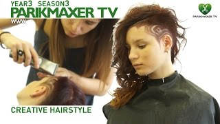 Creative hair tattoo парикмахер тв parikmaxer.tv