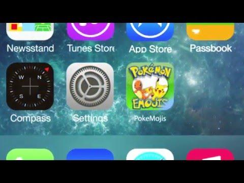 Pokemon Emojis App [iOS/Android] Free Download