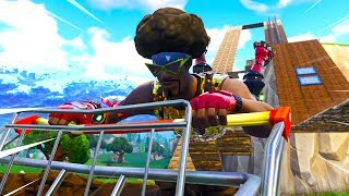 CRAZY OBSTACLE COURSE IN PLAYGROUND! (Fortnite Battle Royale)