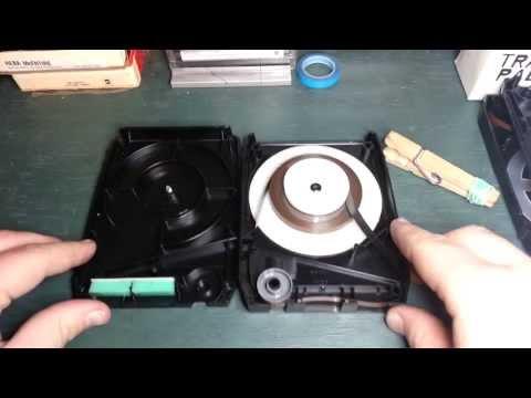 8-Track Tape Repair - Opening Capitol Cartridges (Capitol, Warner Bros...)