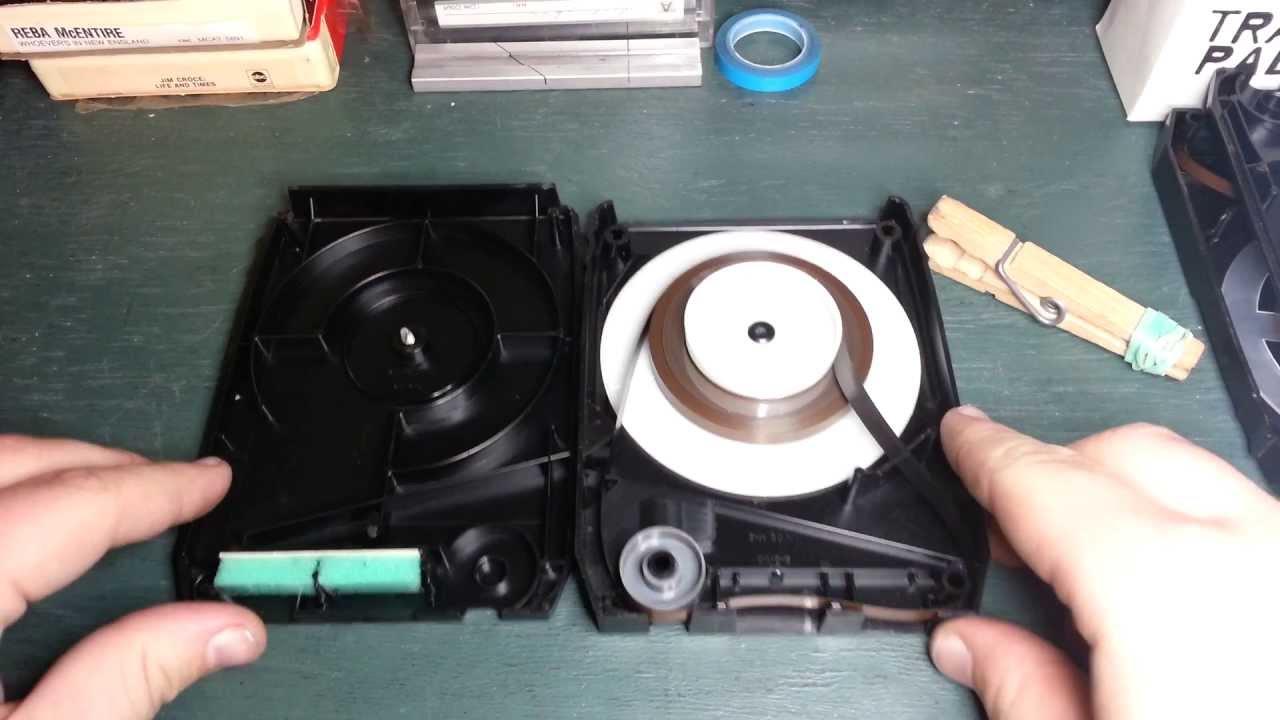 8-track Tape Repair - Opening Capitol Cartridges  Capitol  Warner Bros