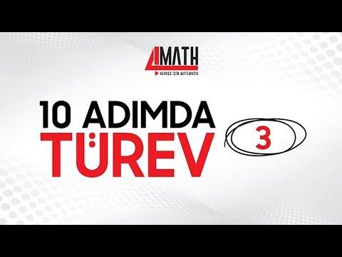10 Adımda Türev -3