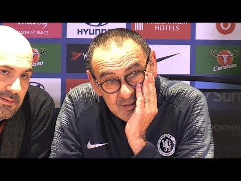 Chelsea 5-0 Huddersfield - Maurizio Sarri Full Post Match Press Conference - Premier League
