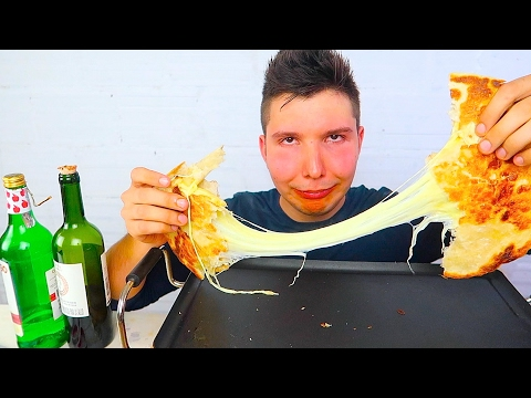 DRUNK COOKING • Mukbang & Recipe