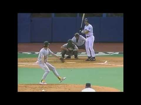 Jay Buhner hits for the cycle