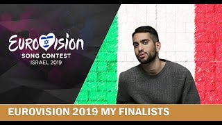 EUROVISION 2019: MY IDEAL 26 FINALISTS  (W/ COMMENTS)
