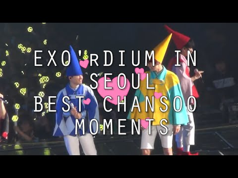 [EXO] EXO'RDIUM IN SEOUL BEST CHANSOO MOMENTS 🙌