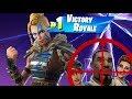 EpicGames gave me a BOLT, so I gave 15 LUCKY BOTS the Pene | Fortnite Battle Royal