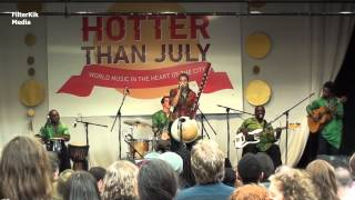 Sona Jobarteh : Hotter Than July, Dublin, 19/07/2015