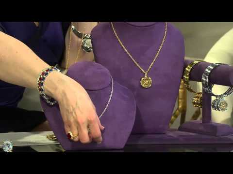 The Elizabeth Taylor Coin Pendant with Mary Beth Roe