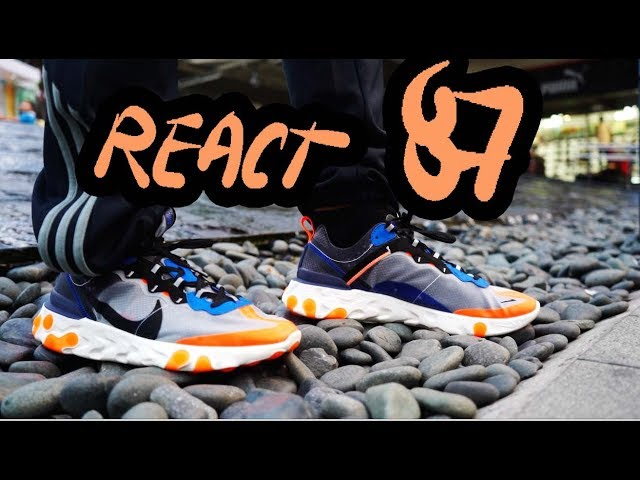 Nike Element React 87  Honest Review// OVER-HYPE AND OVER-PRICED