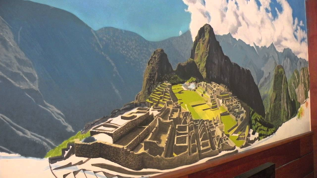 Mural Machu Picchu Extendido