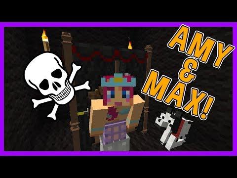 Amy & Max! Ep.19 JINX'S BEDROOM!   Minecraft   Amy Lee33