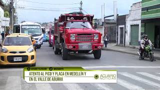 Gambar cover Atento al pico y placa en Medellín y en el Valle de Aburrá