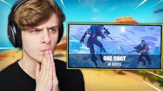 MIJN VREEMDSTE POTJE ONE SHOT OOIT | Fortnite One Shot LTM