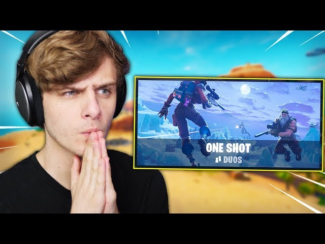 MIJN VREEMDSTE POTJE ONE SHOT OOIT | Fortnite One Shot LTM