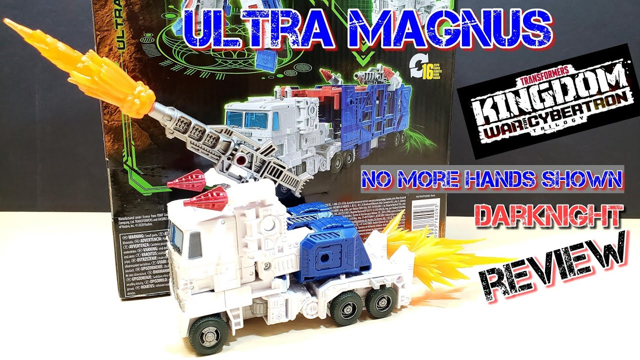 Transformers Kingdom ULTRA MAGNUS Review (Fix Hands Issue) by DarkNight Reviews