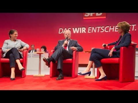 Der SPD-Parteikonvent, Teil 2: Gertrud und Peer Steinbrück im Gespräch mit Bettina Böttinger