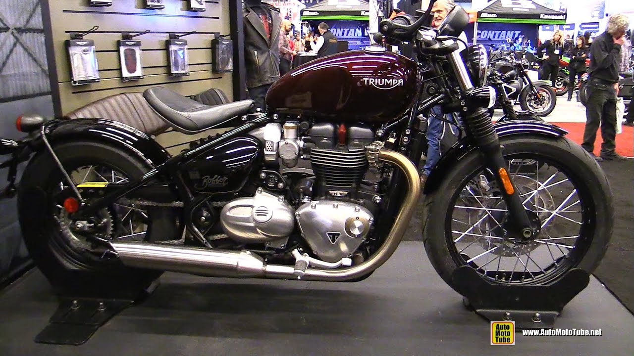 2017 triumph bonneville bobber 1200 walkaround 2017 montreal motorcycle show youtube. Black Bedroom Furniture Sets. Home Design Ideas