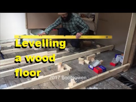 How To Level A Wonky Timber Floor Youtube