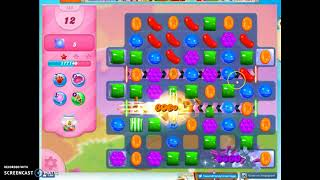 Candy Crush Level 553 Audio Talkthrough, 2 Stars 0 Boosters