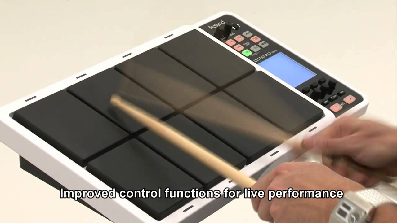 Roland Octapad Spd 30 Digital Percussion Pad Baja 90cc 5 Pin Wiring Diagram Video Library