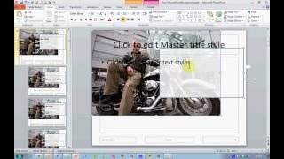 كيفية استخدام الصور الخاصة بك بوصفها خلفية الشريحة في PowerPoint