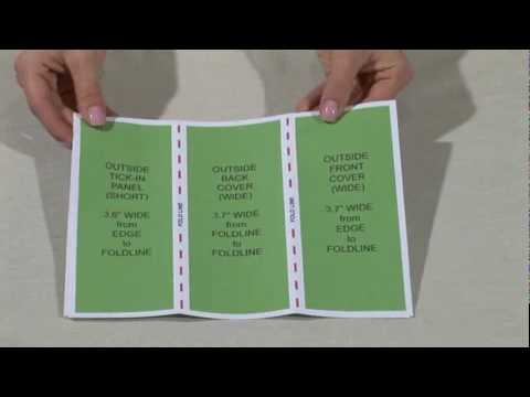 TriFoldHQ - YouTube - make a trifold brochure in word