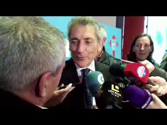 """Mouriño: """"Es el día más importante de la historia del Celta"""""""