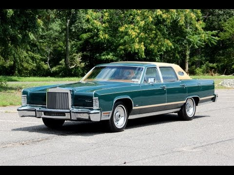 1978 Lincoln Town Car 39 000 Actual Miles For Sale Future