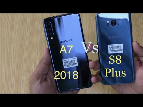 samsung a7 2018 vs s8 plus comparision speed test. Black Bedroom Furniture Sets. Home Design Ideas