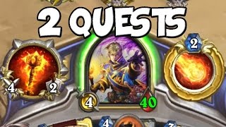 Completing 2 Quests in One Game! [Hearthstone]