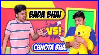 Chota Bhai Vs. Bada Bhai | Laugh With Harsh | Comedy Video | #siblings