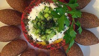 كبة البرغل المقليه من مطبخي Fried Kubba .....linda S Kitchen