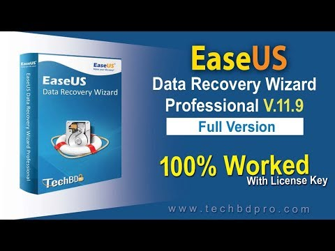 Download EaseUS Data Recovery Wizard 11.9.0 Full Version With License Key (100% Worked)