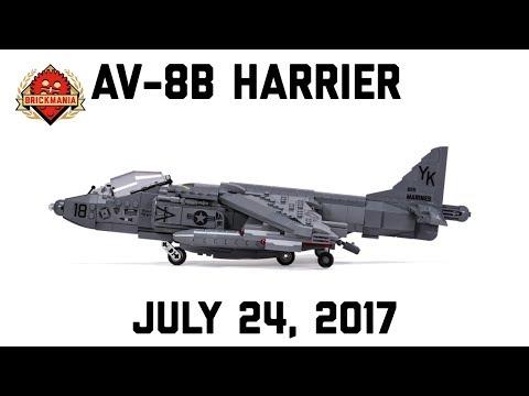 Harrier AV-8B - Custom Military Lego